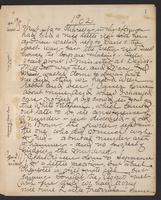 May Bragdon Diary, January 19, 1902 – January 31, 1902, p. 1
