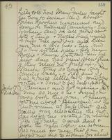 May Bragdon Diary, July 16, 1893 – July 17, 1893, p. 159