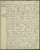 May Bragdon Diary, July 24, 1893 – July 26, 1893, p. 169