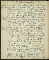 May Bragdon Diary, July 27, 1893 – July 29, 1893, p. 170