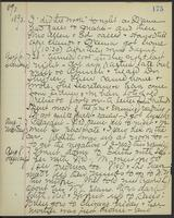 May Bragdon Diary, August 5, 1893 – August 8, 1893, p. 175