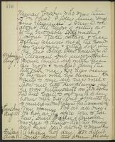 May Bragdon Diary, August 8, 1893 – August 11, 1893, p. 176