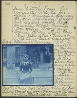 Occluded Image of May Bragdon Diary, August 15, 1893 – August 17, 1893, p. 182