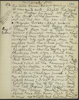 May Bragdon Diary, August 17, 1893 – August 18, 1893, p. 183