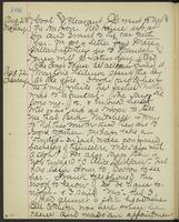 May Bragdon Diary, August 21, 1893 – August 22, 1893, p. 186