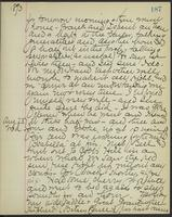 May Bragdon Diary, August 22, 1893 – August 23, 1893, p. 187