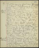 May Bragdon Diary, August 24, 1893 – August 26, 1893, p. 189