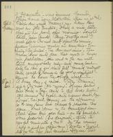 May Bragdon Diary, October 30, 1902 – November 1, 1902, p. 104