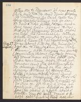 May Bragdon Diary, August 26, 1893 – August 27, 1893, p. 194
