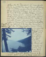 Occluded Image of May Bragdon Diary, August 26, 1893 – August 27, 1893, p. 194