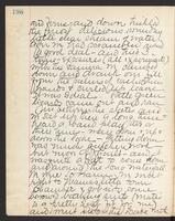May Bragdon Diary, August 27, 1893, p. 196