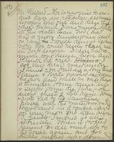 May Bragdon Diary, August 27, 1893, p. 197