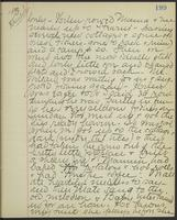 May Bragdon Diary, August 27, 1893, p. 199