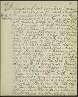 May Bragdon Diary, August 27, 1893 – August 28, 1893, p. 201