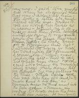 May Bragdon Diary, August 28, 1893, p. 203