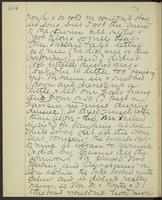 May Bragdon Diary, August 28, 1893, p. 204