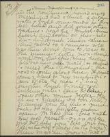 May Bragdon Diary, August 28, 1893, p. 205