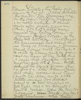 May Bragdon Diary, August 28, 1893, p. 206