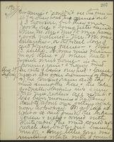 May Bragdon Diary, August 28, 1893 – August 29, 1893, p. 207