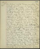 May Bragdon Diary, August 29, 1893, p. 209