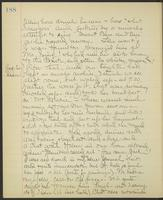 May Bragdon Diary, August 1, 1903 – August 2, 1903, p. 188
