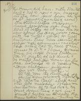 May Bragdon Diary, August 29, 1893, p. 211