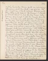 May Bragdon Diary, August 6, 1903, p. 205