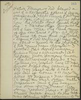 May Bragdon Diary, August 29, 1893, p. 215