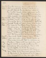 May Bragdon Diary, August 9, 1903 – August 12, 1903, p. 208