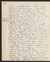 May Bragdon Diary, August 29, 1893 – August 30, 1893, p. 216