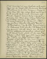 May Bragdon Diary, August 23, 1903, p. 213