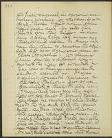 May Bragdon Diary, August 23, 1903, p. 214