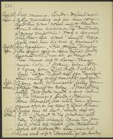 May Bragdon Diary, August 30, 1903 – September 2, 1903, p. 216