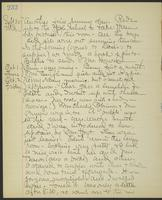 May Bragdon Diary, September 30, 1903 – October 2, 1903, p. 232