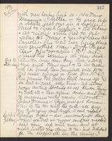 May Bragdon Diary, August 30, 1893 – September 1, 1893, p. 217