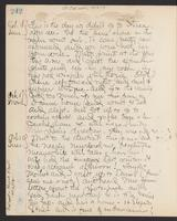 May Bragdon Diary, October 18, 1903 – October 20, 1903, p. 242