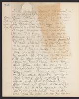 May Bragdon Diary, November 1, 1903 – November 3, 1903, p. 248