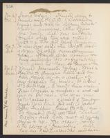 May Bragdon Diary, November 6, 1903 – November 8, 1903, p. 250