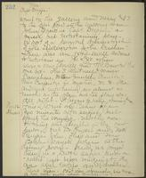 May Bragdon Diary, November 11, 1903 – November 12, 1903, p. 252