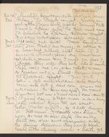 May Bragdon Diary, November 20, 1903 – November 22, 1903, p. 257