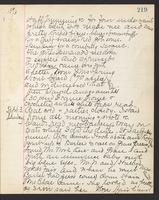 May Bragdon Diary, September 2, 1893 – September 3, 1893, p. 219
