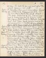 May Bragdon Diary, September 11, 1893 – September 16, 1893, p. 225