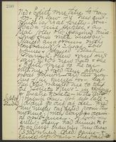 May Bragdon Diary, September 23, 1893 – September 24, 1893, p. 230