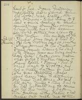 May Bragdon Diary, September 27, 1893 – September 28, 1893, p. 234