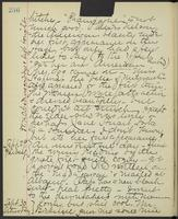 May Bragdon Diary, September 28, 1893 – September 30, 1893, p. 236