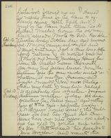 May Bragdon Diary, October 11, 1893 – October 13, 1893, p. 246