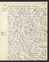 May Bragdon Diary, October 17, 1893 – October 19, 1893, p. 249