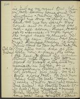 May Bragdon Diary, October 19, 1893 – October 20, 1893, p. 250