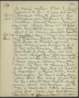 May Bragdon Diary, October 20, 1893 – October 22, 1893, p. 251