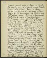 May Bragdon Diary, October 22, 1893, p. 252